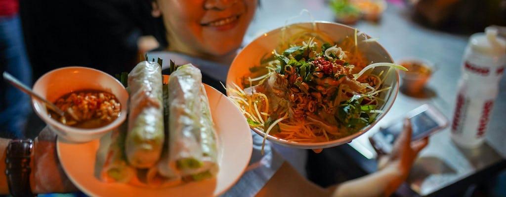 Visite guidée de la cuisine de rue à Ho Chi Minh-Ville de nuit