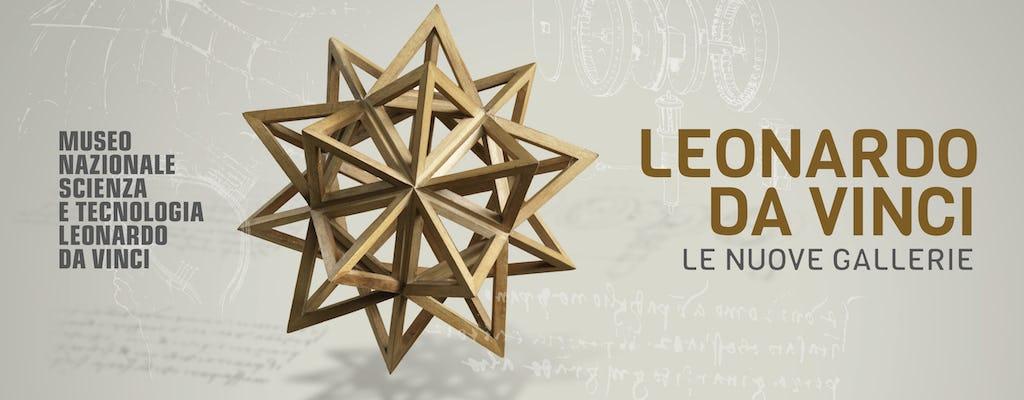 Tour virtual das Galerias Leonardo da Vinci