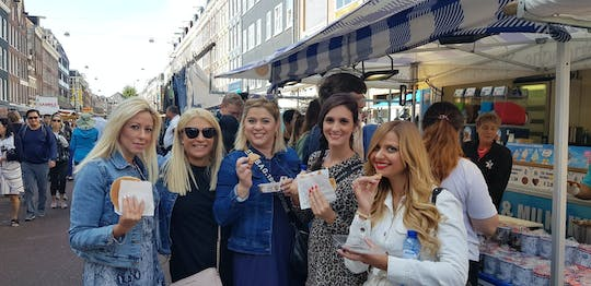Albert Cuyp Market food tour in Amsterdam
