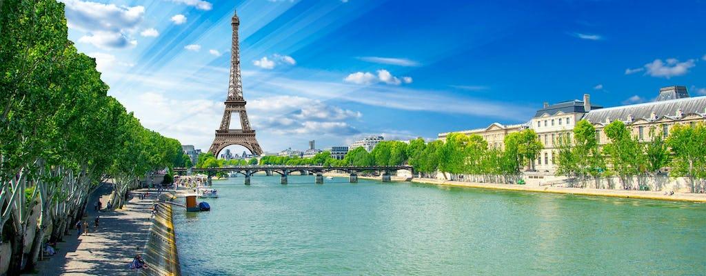 Billets combinés pour la tour Eiffel avec déjeuner bistro et croisière sur la Seine
