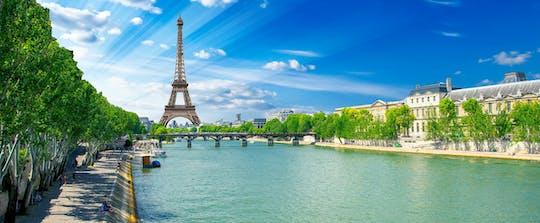Entradas combinadas para la Torre Eiffel con almuerzo bistró y crucero por el río Sena