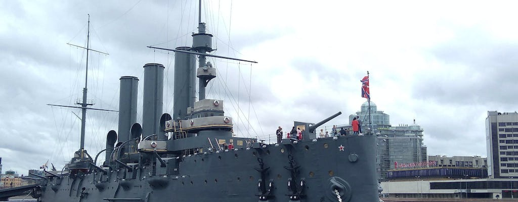 Cruiser Aurora entrance ticket and audio-guided tour in St. Petersburg