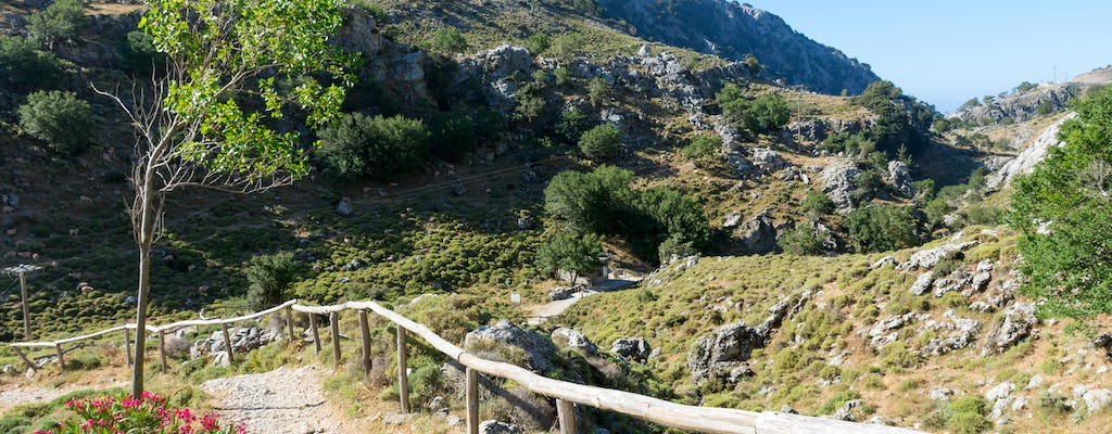 Guided tour of Imbros gorge from Chania