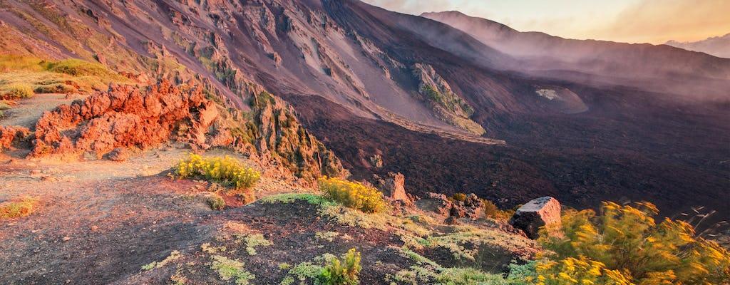Trekking sull'Etna con degustazione di prodotti tipici