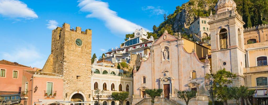 Całodniowa wycieczka do Etny i Taorminy z Katanii