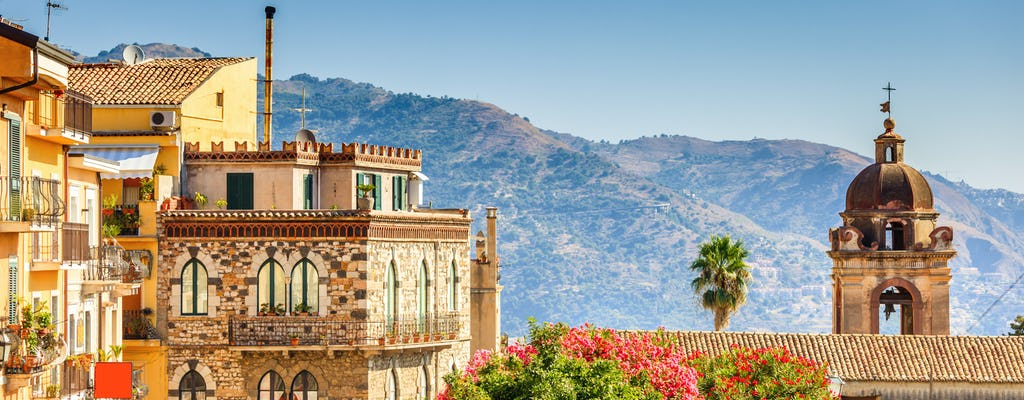 Tour di mezza giornata di Giardini Naxos, Taormina e Castelmola