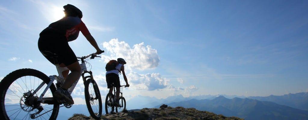 Tour in mountain bike del Monte. etna