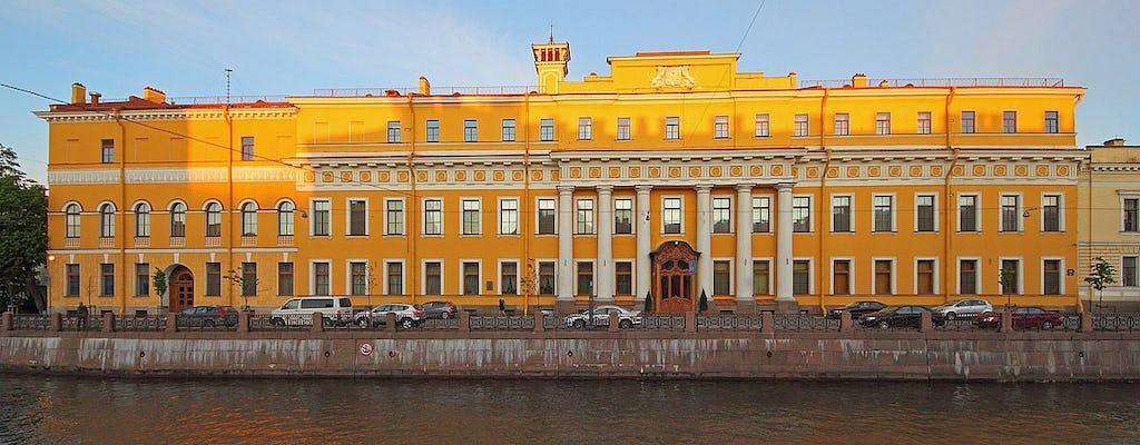 Entrada con audioguía y entrada al palacio de Yusupov