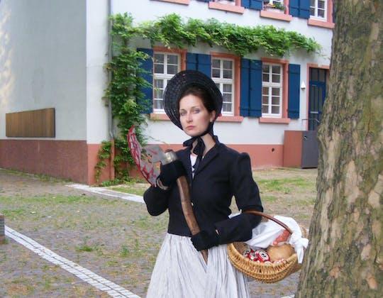 Tour a piedi attraverso Heidelberg con la figlia del boia