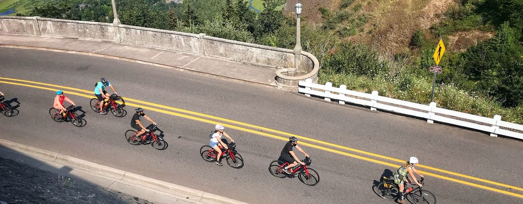 Wycieczka rowerowa po ukrytych wodospadach Columbia River Gorge