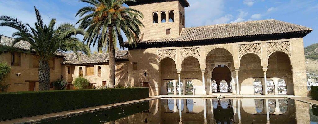 Visite privée du système hydraulique de l'Alhambra