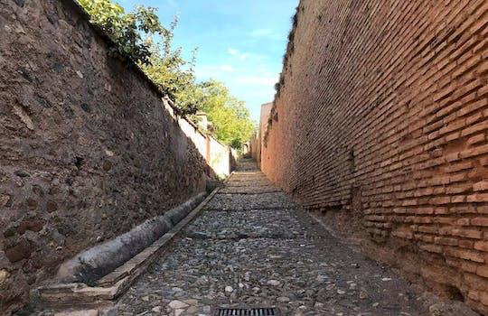 Sabika hill and Alhambra hiking tour