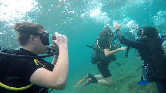 Scuba diving experience in Salou