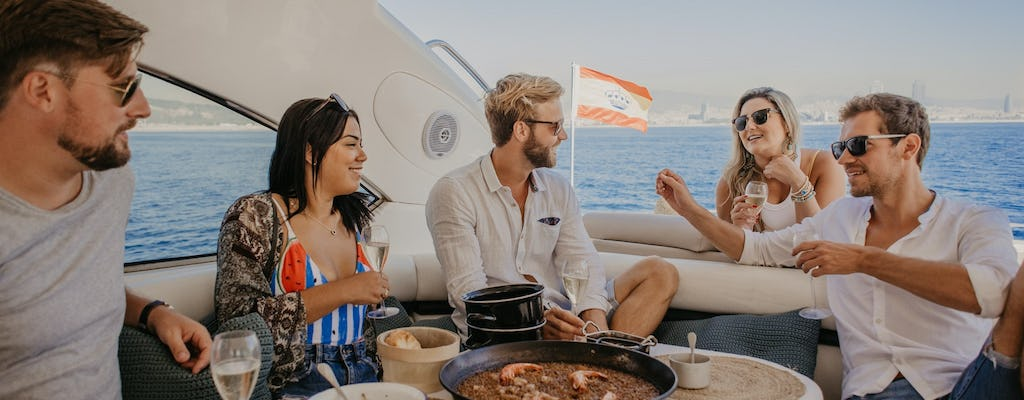 Private luxury yacht experience in Barcelona