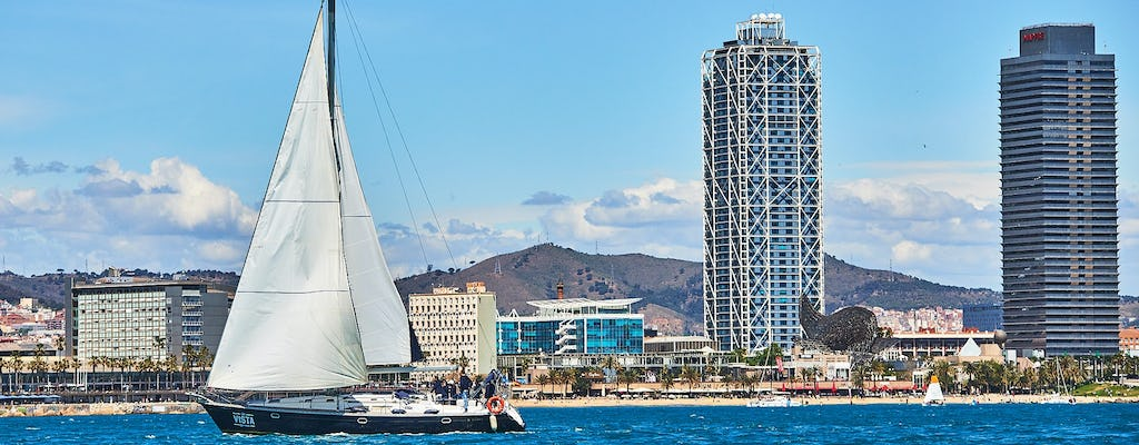 Private luxury sailing  trip in Barcelona