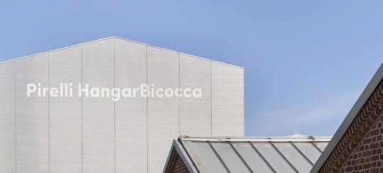 Ingresso al Museo d'Arte Contemporanea Pirelli HangarBicocca