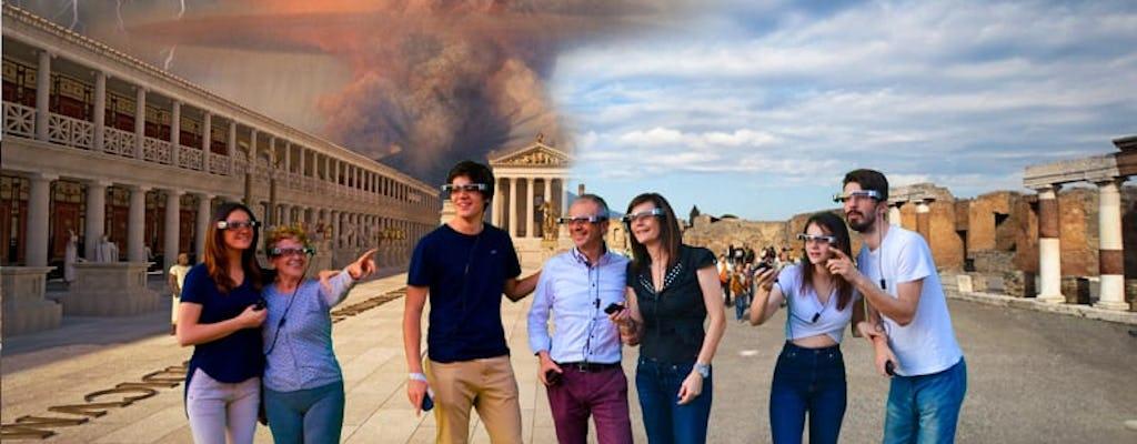 Pompeii & Vesuvius Tour with AR Glasses