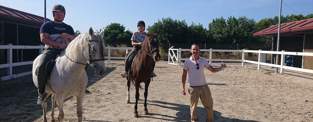 Experiência de equitação em Salou