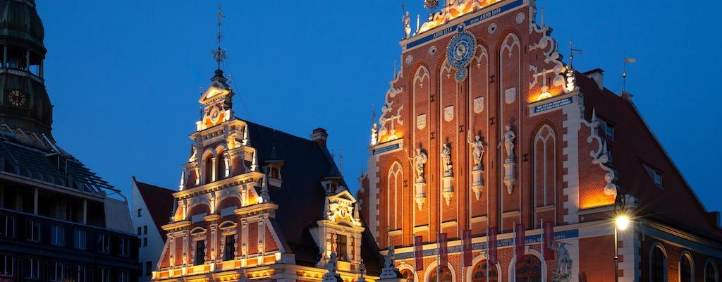 Bilhete de entrada para a Casa das Cabeças Negras em Riga