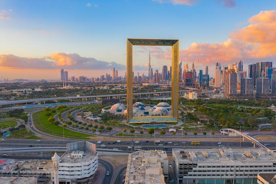 Dubai frame tickets with half-day tour of Dubai from Sharjah