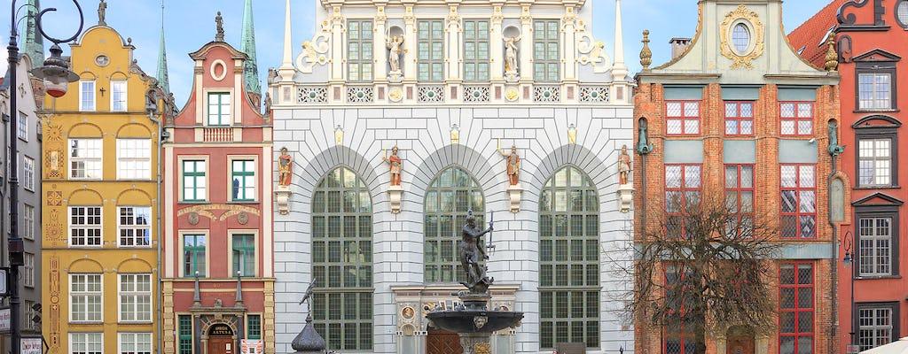 Visita guiada privada à Cidade Velha de Gdansk e Arthur's Court