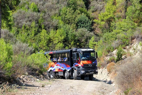 Truck-Safari im Köprülü Canyon Nationalpark