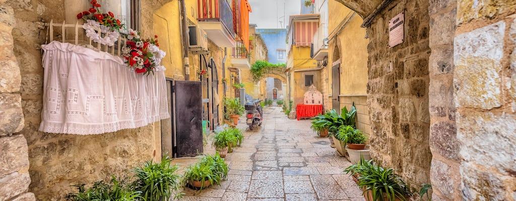 Old Bari walking tour with focaccia tasting