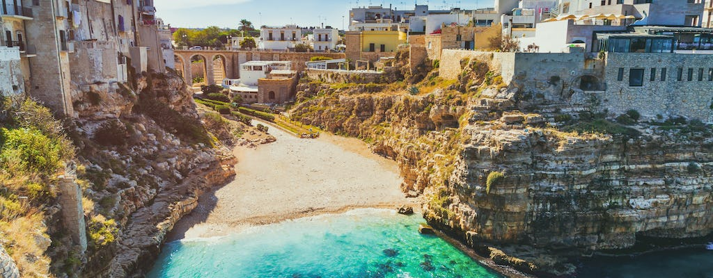 Polignano a Mare walking tour with an expert guide