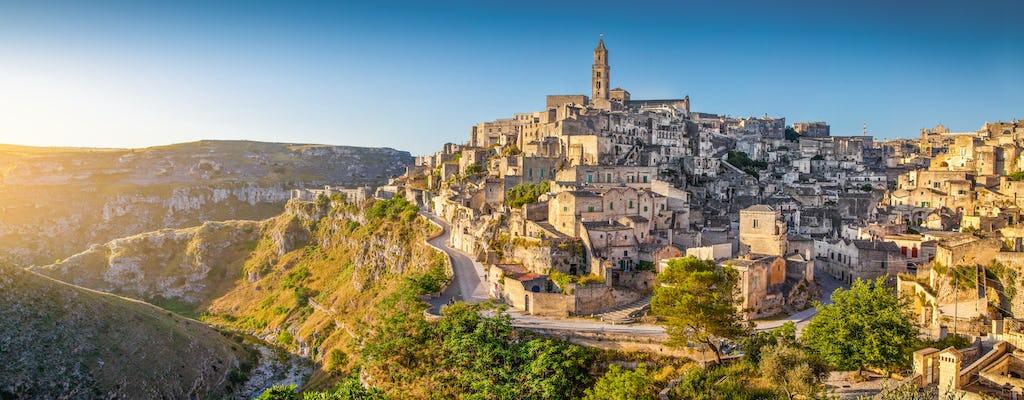 Matera full-day tour from Bari