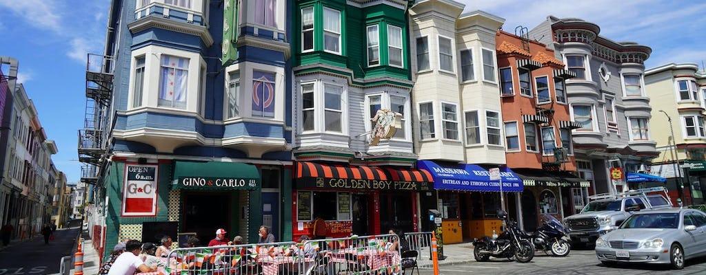 Tour a piedi di cibo e storia di San Francisco North Beach