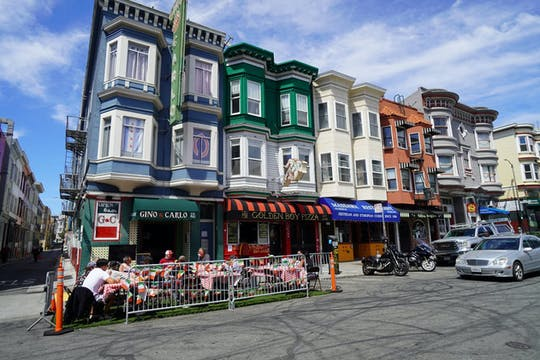 Wandeltocht over eten en geschiedenis in San Francisco North Beach