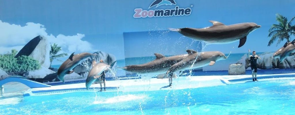 Zoomarine private trip from Lisbon with entrance tickets