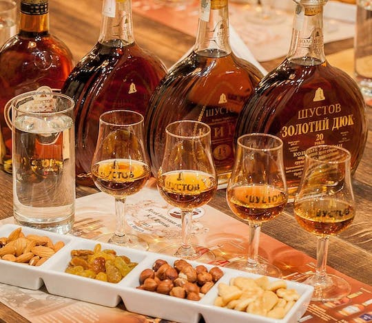 Small group tour to Shustov Cognac Museum with tasting