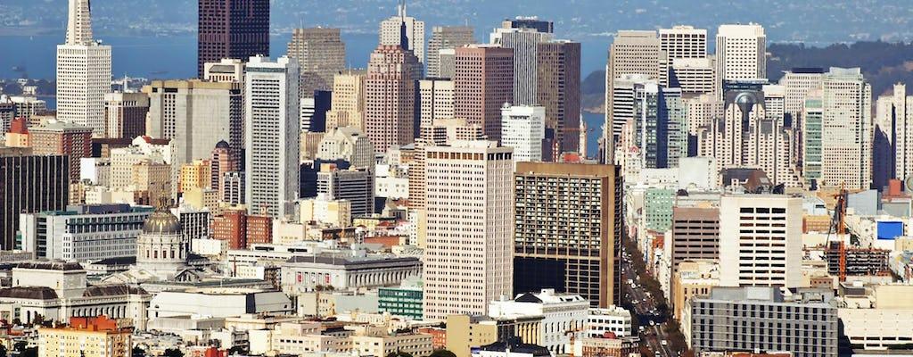 San Francisco Grand City Bustour mit 4-stündigem Fahrradverleih