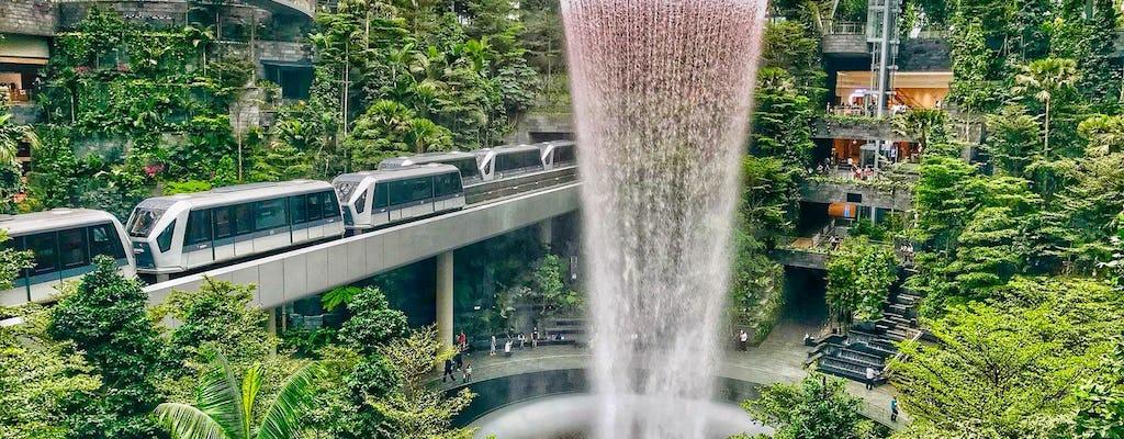 Changi Jewel evidenzia il tour a piedi con il biglietto per il Canopy Park