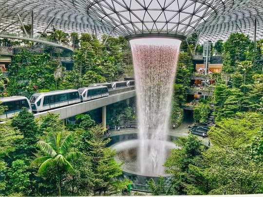 Changi Jewel highlights walking tour with Canopy Park ticket