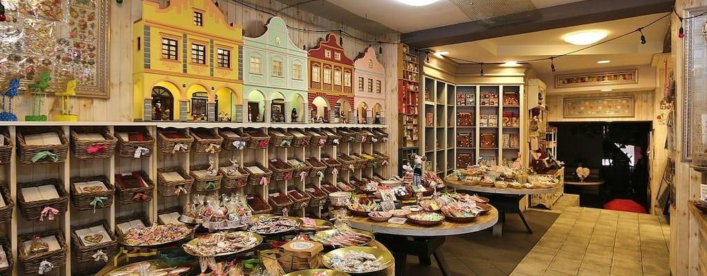 Tour privado del Museo viviente de pan de jengibre y el casco antiguo de Torun