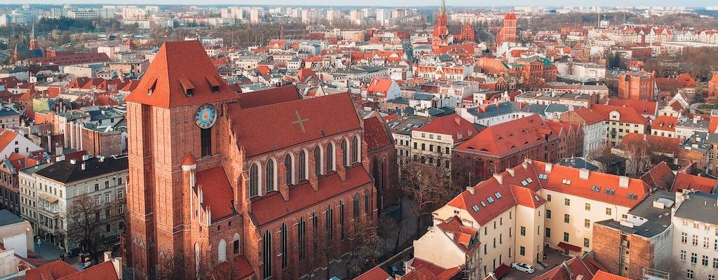 Tour door de oude stad en het Duitse kasteel met ticket voor het levende peperkoekmuseum