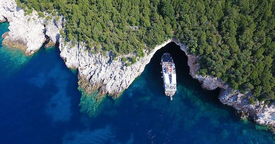 Parga and Sivota cruise with BBQ from Corfu