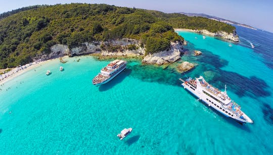 Paxos, Antipaxos and Lakka village cruise from Corfu