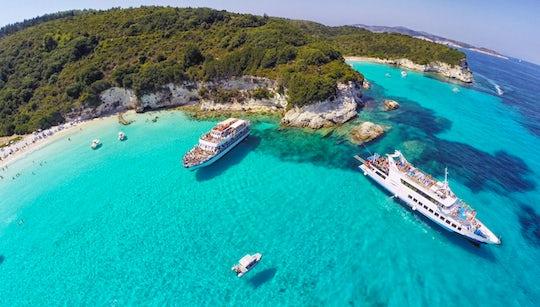 Paxos, Antipaxos and Lakka village cruise from Corfu