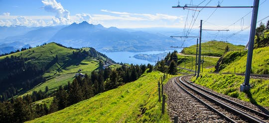 Day tour to the Rigi, the queen of mountains, and to Lucerne from Zürich