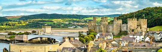 Uncover the medieval town of Conwy on a self-guided audio tour