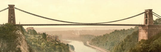 Descubra o barco e a ponte de Brunel em um passeio de áudio autoguiado em Bristol