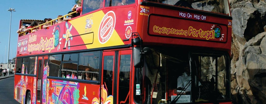 Red and green line City Sightseeing