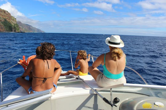 Whale and dolphin watching private tour