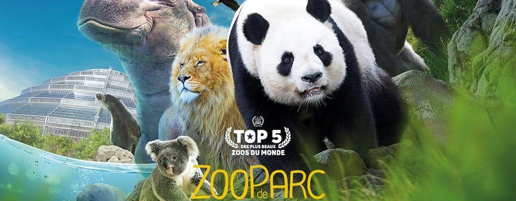 Входной билет в зоопарк Боваль