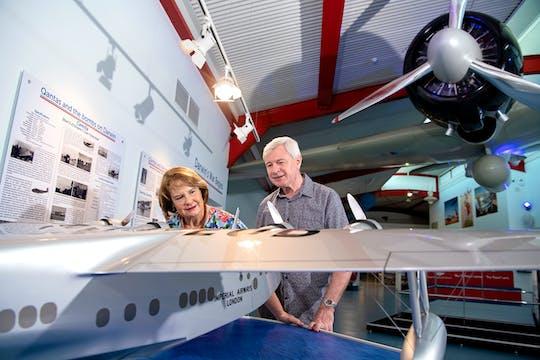 Bilet wstępu do obiektu RFDS w Darwin