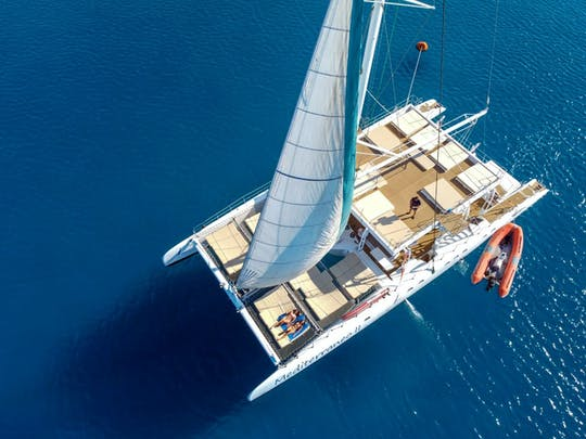 Relaxing Adults-only Blue Lagoon Catamaran Trip