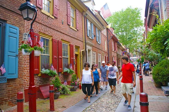 Philadelphia Segway ™ tour e tour a piedi della storia
